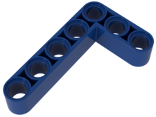 Blue Technic, Liftarm 3 x 5 L-Shape Thick