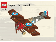 Original Instructions for Set 3451 - Sopwith Camel