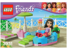 Original Instructions for Set 3931 - Emma's Splash Pool
