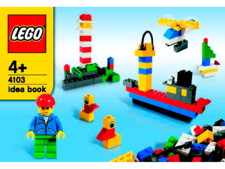 Original Instructions for Set  4103 - Fun with Bricks