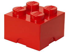 Red Storage Brick 2 x 2