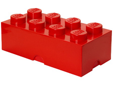 Red Storage Brick 2 x 4