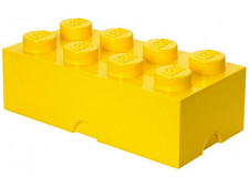 Yellow Storage Brick 2 x 4