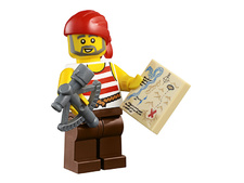 Minifigure 45023-12 Pirate