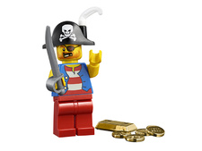 Minifigure 45023-13 Pirate Captain