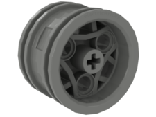 Light Gray Wheel 30.4mm D. x 20mm Technic Racing