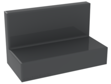 Dark Bluish Gray Panel 1 x 2 x 1