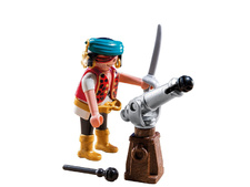 Pirate with Cannon