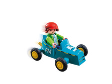 Boy with Go-Kart