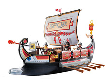 Roman Warriors' Ship