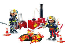 Firefighting Operation with Water Pump