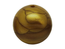 Flat Dark Gold Bionicle Zamor Sphere