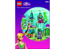 Original Instructions for Set  5960 - The Mermaid Castle