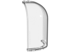Trans-Clear Panel 6 x 6 x 9 Corner Convex with Curved Top