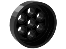 Black Wheel 31mm D. x 15mm Technic