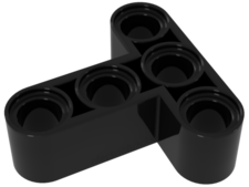 Black Technic, Liftarm 3 x 3 T-Shape Thick