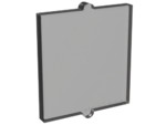 Trans-Black Glass for Window 1 x 2 x 2 Flat Front