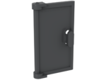 Dark Bluish Gray Door 1 x 2 x 3 with Vertical Handle