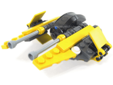 LEGO Star Wars - 6966 - Jedi Starfighter - Mini