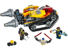 LEGO Ultra Agents - 70168 - El Robo del Diamante de Drillex