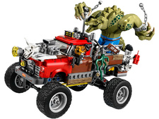 LEGO Batman Movie - 70907 - Reptil todoterreno de Killer Croc™