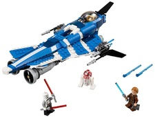 75087 Anakin's Custom Jedi Starfighter