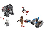 LEGO Star Wars - 75195 - Microfighters: Speeder Esquiador vs. Caminante de la Primera Orden