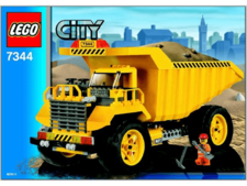 Original Instructions for Set  7344 - Dump Truck