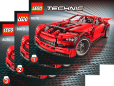 Original Instructions for Set  8070 - Supercar
