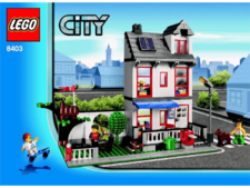 Original Instructions for Set  8403 - House City