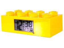 Alarm Clock, Brick 2 x 4 - Yellow