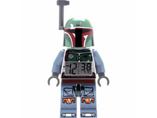 Boba Fett figure clock