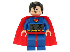 Superman Figure Alarm Digital Clock
