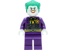 LEGO DC Comics SUPER HEROES Joker Minifigure Clock