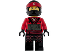 The Ninjago Movie Kai Minifigure clock