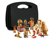 Egyptian Treasure Carry Case