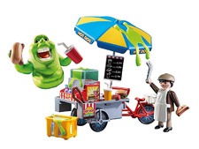 Slimer with Hot Dog Stand