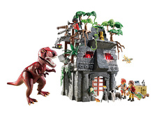 Hidden Temple with T-Rex