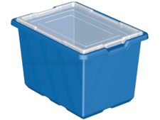 X-Large Blue Storage Bin