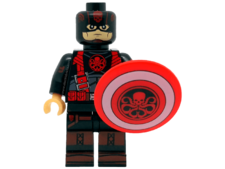 Minifig World Superhero Captain America Hydra