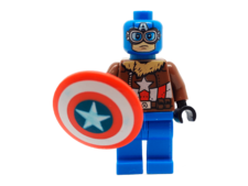 Minifig World Superhero Captain America3