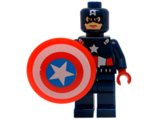 Minifig World Superhero Captain America2