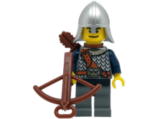Minifigure Castle 852271 Crown knight scale mail. Fantasy era