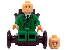 Minifig World Superhero Charles Xavier