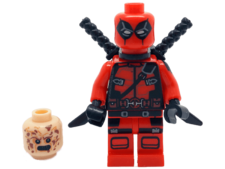 Minifig World Superhero Deadpool