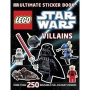 LEGO Star Wars Ultimate Sticker Book Villains