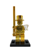 Minifig World Mr.Gold Cromado Dorado