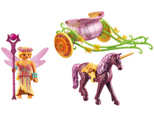Unicorn-Drawn Fairy Carriage