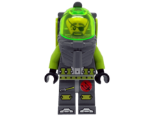 Minifigure Atlantis 8075 Diver 3 Ace Speedman