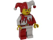 Minifigure cas480 Jester, Female